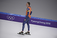 OLYMPIC GAMES: PYEONGCHANG: 18-02-2018, Gangneung Oval, Long Track, Team Pursuit Men, Sven Kramer(NED), ©photo Martin de Jong