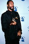 Bobby McFerrin in the press room at the 29th Annual Grammy Awards. February 1987..© David Plastik / Retna Ltd.. Bobby McFerrin at the Grammy Awards 1987