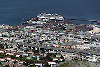 aerial photograph Pier 70 Third Street I-280 San Francisco, California