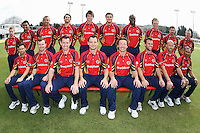 Essex CCC 2012 team photo in Clydesdale Bank 40 kit - Essex CCC Press Day at the Ford County Ground, Chelmsford, Essex - 03/04/12 - MANDATORY CREDIT: Gavin Ellis/TGSPHOTO - Self billing applies where appropriate - 0845 094 6026 - contact@tgsphoto.co.uk - NO UNPAID USE.