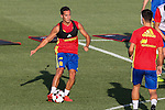 Spanish Lucas Vazquez during the first training of the concentration of Spanish football team at Ciudad del Futbol de Las Rozas before the qualifying for the Russia world cup in 2017 August 29, 2016. (ALTERPHOTOS/Rodrigo Jimenez)