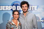 "Maria Leon and Miki Esparbe during the presentation of the spanisn film ""Cuerpo de Elite"" in Madrid. August 24. 2016. (ALTERPHOTOS/Borja B.Hojas)"