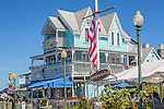 Church's Pier in Oak Bluffs, Marthas Vineyard, Massachusetts, USA