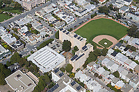 aerial photograph residential neighborhood near USF San Francisco California
