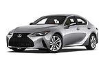 Stock pictures of low aggressive front three quarter view of 2021 Lexus IS 300 4 Door Sedan Low Aggressive