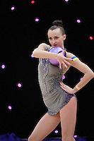 "February 12, 2016 - Tartu, Estonia - ANNA RIZATDINOVA of Ukraine wins gold in the All-Around at ""Miss Valentine"" 2016 international tournament."