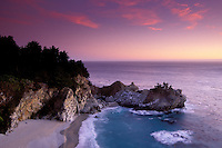 California, Big Sur, Julia Pfeiffer Burns State Park, waterfall