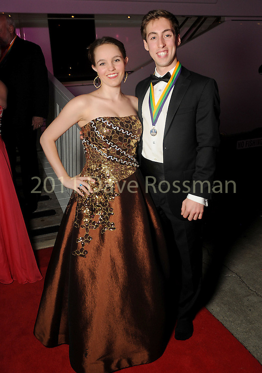 """Erin Granberry and Josh Thomas at the San Luis Salute """"Space Pirates"""" VIP reception Friday February 24,2017. (Dave Rossman Photo)"""