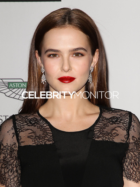 CENTURY CITY, CA, USA - MAY 02: Zoey Deutch at the 21st Annual Race To Erase MS Gala held at the Hyatt Regency Century Plaza on May 2, 2014 in Century City, California, United States. (Photo by Celebrity Monitor)