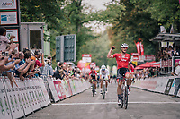 Jasper Stuyven (BEL/Trek-Segafredo)<br /> <br /> 59th Grand Prix de Wallonie 2018 <br /> 1 Day Race from Blegny to Citadelle de Namur (BEL / 206km)