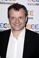 Photocall de la conference de presse de France Télévisions - Axel De Tarlé