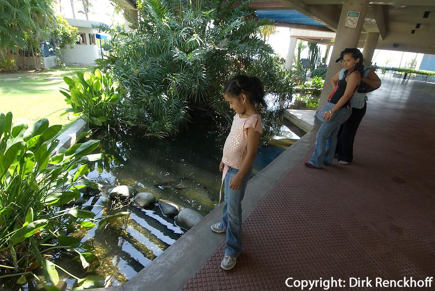 Dominikanische Republik, Acuario Nacional in Santo Domingo, Kinder