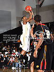 Alabama State Hornets guard Tramaine Butler (21) in action during the SWAC Championship game between the Alabama State Hornets and the Grambling State Tigers at the Special Events Center in Garland, Texas. Alabama State defeats Grambling State 65 to 48.