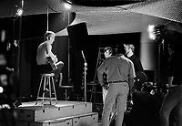Marcel Amont, chanteur francais en visite au Quebec,<br /> le 25 avril 1969<br /> <br /> Photo : Photo Moderne<br /> Collection : © Agence Quebec Presse