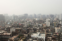 Dhaka, the capital of Bangladesh, is one of the world's biggest conurbation with an estimated population of more than 15 million people. It also bears the distinction of being the fastest-growing city in the world.