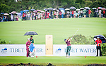 Players in action during the Mission Hills Celebrity Pro-Am on 26 October 2014, in Haikou, China. Photo by Xaume Olleros / Power Sport Images