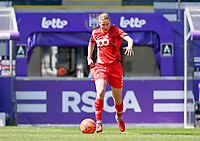 Aster Janssens (5) of Standard  pictured during a female soccer game between RSC Anderlecht Dames and Standard Femina De Liege on the third matchday of play off 1 of the 2020 - 2021 season of Belgian Womens Super League , saturday 24 th of April 2021  in Brussels , Belgium . PHOTO SPORTPIX.BE | SPP | DAVID CATRY