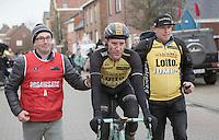 Jos Van Emden (NED/Team Lotto NL-Jumbo) after winning the 1st Dwars door West-Vlaanderen 2017 (1.1)