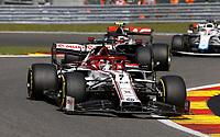 30th August 2020, Spa Francorhamps, Belgium, F1 Grand Prix of Belgium , Race Day;  7 Kimi Raikkonen FIN, Alfa Romeo Racing ORLEN