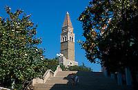 Slowenien, Portoroz, Sv Bernardin