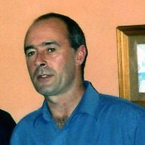 Fechin Mulkerrin (blue shirt) who died in 2009