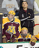 Kris Chucko, Ryan Stoa - The University of Minnesota Golden Gophers defeated the University of North Dakota Fighting Sioux 4-3 on Friday, December 9, 2005, at Ralph Engelstad Arena in Grand Forks, North Dakota.
