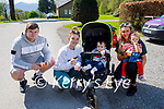 Enjoying their ice cream and a stroll in the Killarney National park on Thursday, l to r: Leonard and Nikita Gamble, Jack Richards, Leanne Casey and Lauren O'Connor.