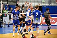 06-03-2021: Volleybal: Amysoft Lycurgus v Active Living Orion: Groningen vertwijfeling bij Lycurgus, vreugde bij OIrion