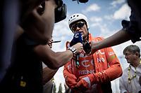Polka Dot Jersey / KOM leader Greg Van Avermaet (BEL/CCC) after finishing the TTT<br /> <br /> Stage 2 (TTT): Brussels to Brussels(BEL/28km) <br /> 106th Tour de France 2019 (2.UWT)<br /> <br /> ©kramon