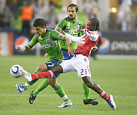 Seattle Sounders FC vs Portland Timbers May 14 2011