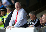 St Johnstone v Aberdeen....18.08.12   SPL.Craig Brown watches from the dugout.Picture by Graeme Hart..Copyright Perthshire Picture Agency.Tel: 01738 623350  Mobile: 07990 594431