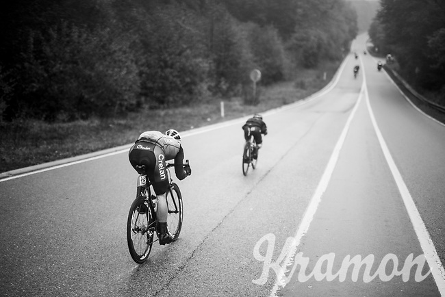 Stijn Steels (BEL/Vérandas Willems - Crélan)<br /> <br /> 2018 Binche - Chimay - Binche / Memorial Frank Vandenbroucke (1.1 Europe Tour)<br /> 1 Day Race: Binche to Binche (197km)