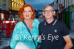 Enjoying the evening in the Brogue Inn on Saturday, l to r: Pierce and Geraldine Flynn from Tralee.