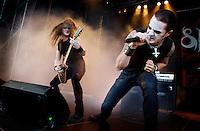 Hove, 20080627. Hovefestivalen, Satyricon.  Foto: Eirik Helland Urke / Dagbladet