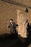 STRAW BEAR FESTIVAL WHITTLESEA WHITTLESEY CAMBRIDGESHIRE STOCK PHOTOGRAPHY ENGLAND UK