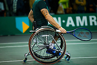 Rotterdam, The Netherlands, 11 Februari 2020, ABNAMRO World Tennis Tournament, Ahoy, <br /> Wheelchair tennis: Maikel Scheffers (NED).<br /> Photo: www.tennisimages.com