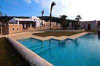 Spanien, Balearen, Ibiza, Landhotel Lluc (Agrotourismus)