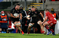 Sunday 22nd November 2020 | Ulster vs Scarlets<br /> <br /> Alan O'Connor during the Guinness PRO14 Round 7 clash between Ulster Rugby and Scarlets at Kingspan Stadium, Ravenhill Park, Belfast, Northern Ireland. Photo by John Dickson / Dicksondigital