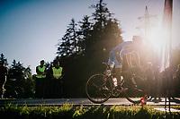 Nadjaf Baghirov (AZE)<br /> <br /> MEN JUNIOR ROAD RACE<br /> Kufstein to Innsbruck: 132.4 km<br /> <br /> UCI 2018 Road World Championships<br /> Innsbruck - Tirol / Austria