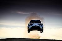 10th October 2020, Alghero, Sardinia, Italy; WRC Rally of Sardinia;   Ogier  gets airborne