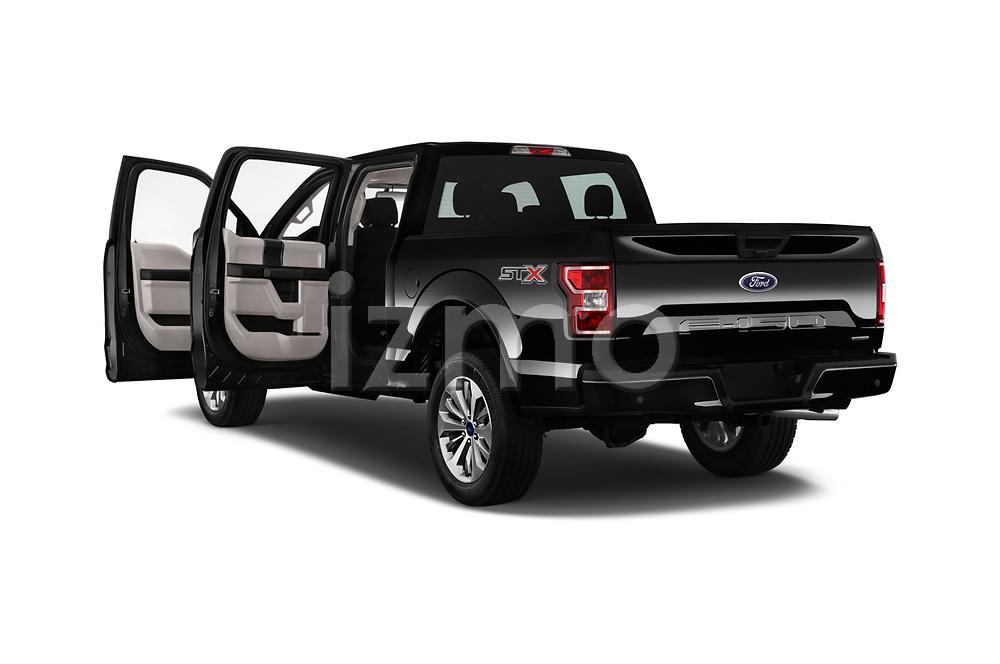 Car images of 2018 Ford F-150 XL-SuperCrew 4 Door Pickup Doors