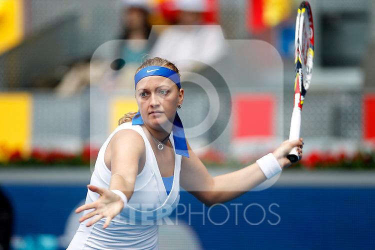 Petra Kvitova during Madrid Open Tennis 2012 Match.May, 7, 2012(ALTERPHOTOS/ALFAQUI/Acero)