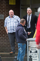 COPY BY TOM BEDFORD<br /> Pictured: Barry Jones (L)<br /> Re: Ten men on trial at Merthyr Crown Court are facing jail for turning a travellers camp built with a £3m grant from the Welsh Government into a giant cannabis plantation.<br /> Half of the 24 caravans at their newly-renovated gypsy camp in Merthyr Tydfil were used as cover for a sophisticated drugs-growing operation worth up to £340,000 a year, a court heard.<br /> Their Glynmill Gypsy and Traveller Site had been given a £3m grant of public money for improvements including community hall, toilet blocks and landscaping.<br /> Andrew Jakes, 36, Adam Jones, 23, Barry Jones, 34, Brinnie Mochan, 18, Peter Gilheaney, 18, Steven Francis Gilheaney, 33, Martin Gilheaney, 27, and Peter Patrick Gilheaney, 27, all of Glynmill Caravan Site, admitted conspiracy to produce cannabis and cannabis production.<br /> Another two – Edward Probert, 27, of Pontypool, and William Henry Williams, 20, of Merthyr Tydfil – also pleaded guilty to the same charges.