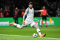 Fussball, Länderspiel, Freundschaftsspiel, Deutschland vs Brasilien ,27.03.2018, Olympiastadion Berlin, Alisson, TW Brasilien *** Soccer International Friendlies Germany vs Brazil 27 03 2018 Olympiastadion Berlin Alisson TW Brazil   <br /> Foto Insidefoto