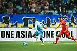Jiangsu FC Midfielder Ramires Santos (L) in action during the AFC Champions League 2017 Group H match between Jiangsu FC (CHN) vs Adelaide United (AUS) at the Nanjing Olympics Sports Center on 01 March 2017 in Nanjing, China. Photo by Marcio Rodrigo Machado / Power Sport Images