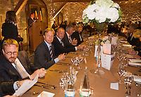 Switserland, Genève, September 16, 2015, Tennis,   Davis Cup, Switserland-Netherlands, location of the official diner, Domaine du Clos Du Chateau, <br /> Photo: Tennisimages/Henk Koster