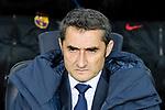 FC Barcelona Head Coach Ernesto Valverde during the La Liga 2017-18 match between FC Barcelona and Deportivo La Coruna at Camp Nou Stadium on 17 December 2017 in Barcelona, Spain. Photo by Vicens Gimenez / Power Sport Images