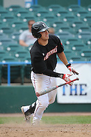 University of Louisville Cardinals infielder Alex Chittenden (4) during a game against the Temple University Owls at Campbell's Field on May 10, 2014 in Camden, New Jersey. Temple defeated Louisville 4-2.  (Tomasso DeRosa/ Four Seam Images)