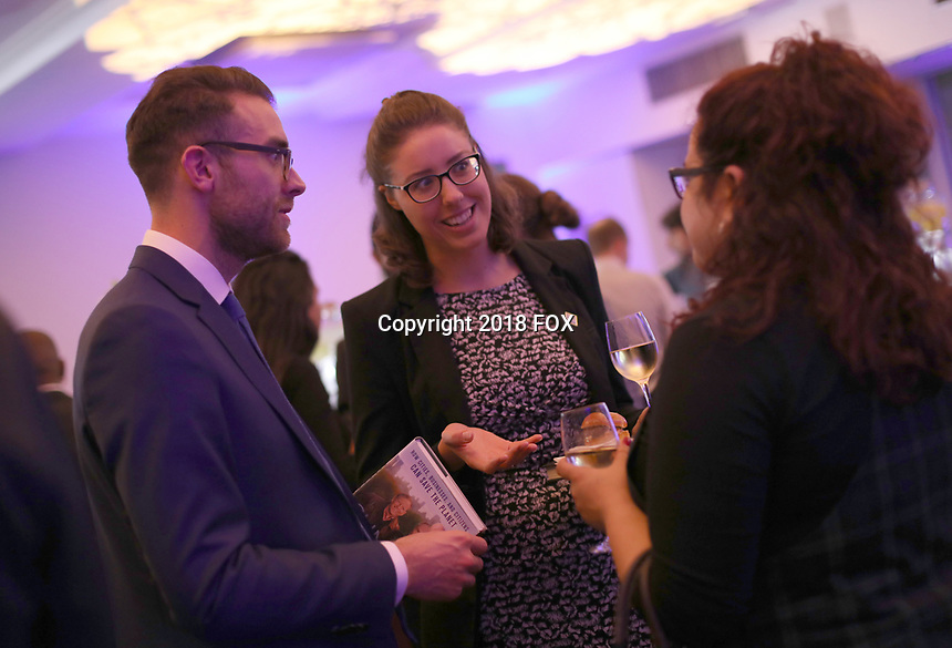 """LONDON, UK - DECEMBER 11:  Atmosphere at the London Premiere of Bloomberg and National Geographic's """"Paris to Pittsburgh"""" at the BAFTA Theatre on December 11, 2018 in London, UK. (Photo by Vianney Le Caer/National Geographic/PictureGroup)"""