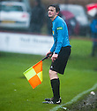 The linesman feels the pain of the wind and the rain.